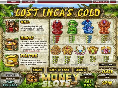 Lost Inca's Gold Slot Review  Topgame  Play Lost Inca's