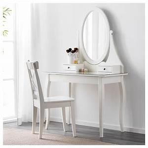Miroir Maquillage Ikea : hemnes coiffeuse avec miroir blanc 100 x 50 cm ikea ~ Teatrodelosmanantiales.com Idées de Décoration