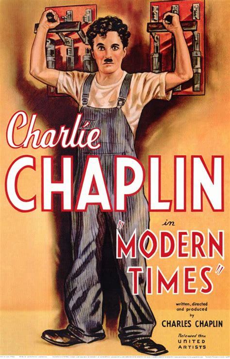 les temps modernes affiche les temps modernes de charles chaplin 1936 analyse et critique du dvdclassik