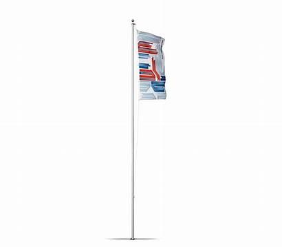 Pole Flag Flagpole Sleeve Ground Basic Poles