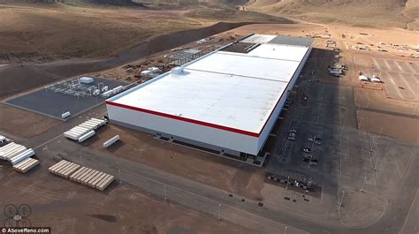 The Gigafactory That Will Make Or Break Tesla  Daily Mail