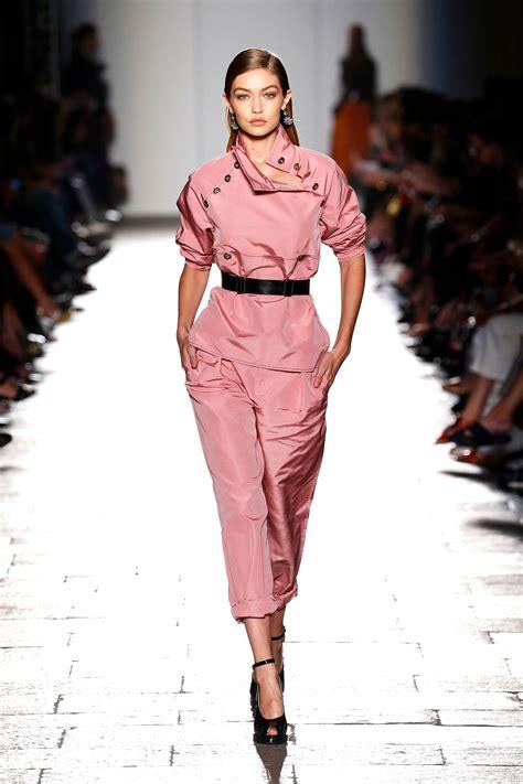 gigi hadid shared  runway  model icon lauren hutton