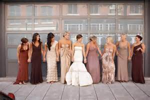 fall color bridesmaid dresses bridesmaids dresses for fall season