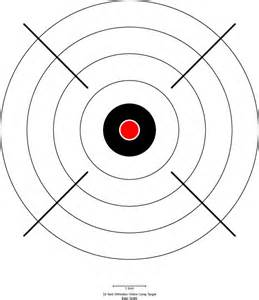 Free Printable Shooting Targets 8.5 X 11