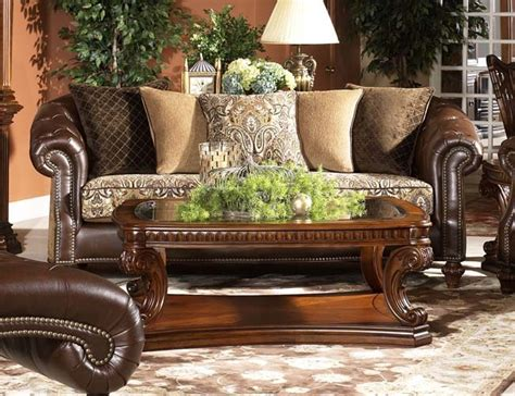 leather fabric mix sofa for the home