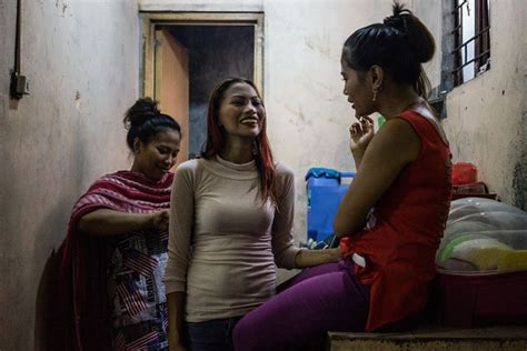 filipino typhoon victims forced into sex trade