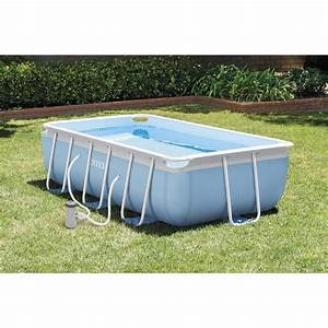Piscine Tubulaire Intex : piscine hors sol autoportante tubulaire intex l 3 4 x l 2 ~ Nature-et-papiers.com Idées de Décoration