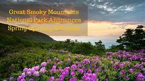 Great Smoky Mountains National Park announces spring ...