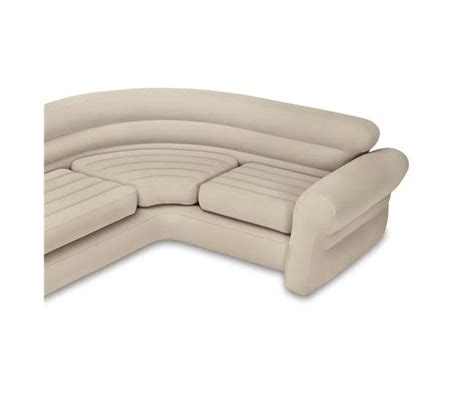 intex inflatable corner sectional sofa with air pump