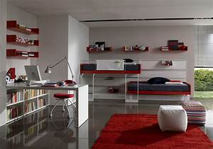 twin bedding teen room designs from zalf home interior With room interior design for teenagers