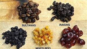 Difference Between Sultanas and Currants - YouTube