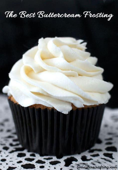 Buttercream Decorating Icing Recipe - the best buttercream frosting recipe desserts to