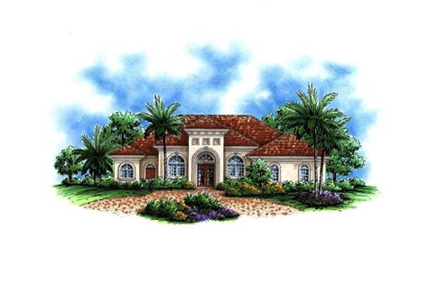 luxury home plan  bedrms  baths  sq ft
