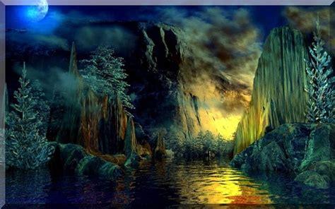 beautiful fantasy nature wallpaper funonsite
