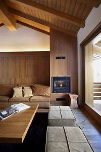 Interior Design Featuring Whole Wooden Elements By Gianluca Fanetti