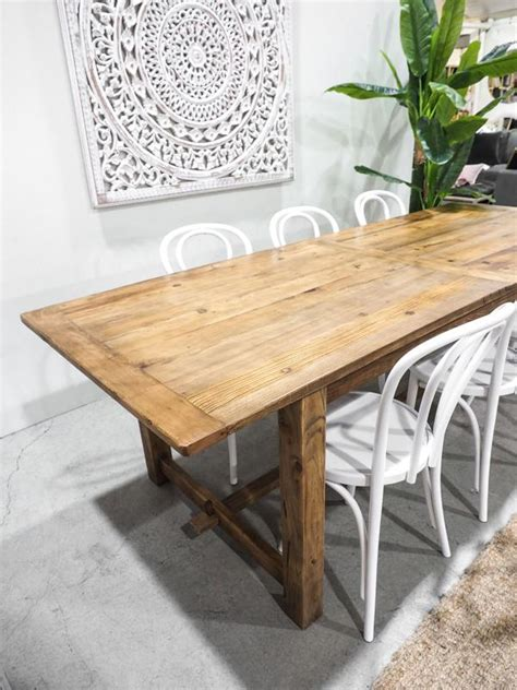 farmhouse dining table oliver birch