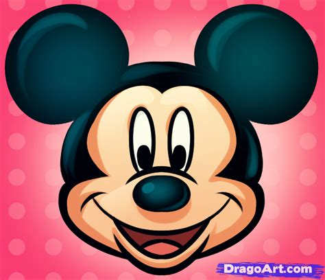 draw mickey mouse easy step  step disney