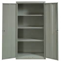 sandusky used 72 inch storage cabinet putty national
