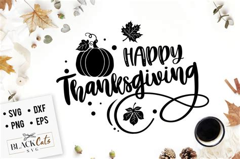 Thanksgiving svg files for silhouette, cricut, sizzix, pazzles, sure cuts a lot, and more. Happy Thanksgiving SVG file Cutting File Clipart in Svg ...