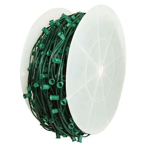 c9 spool 1000 length green wire