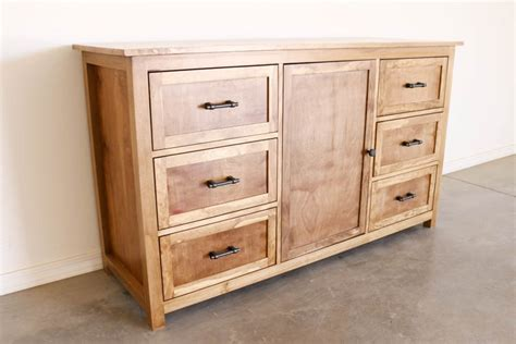 diy rustic dresser   building plans addicted  diy