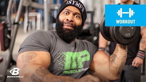 ct fletchers armed warfare arm workout bodybuildingcom