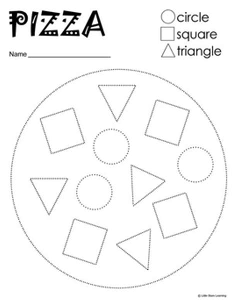 prewriting pizza shapes by learning tpt 361 | original 139865 1