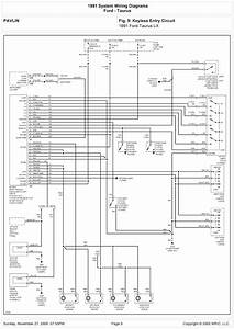 2001 Ford Taurus Electrical Diagram
