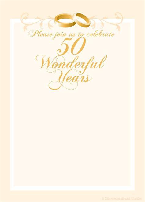 anniversary invitation templates cleavercrafts