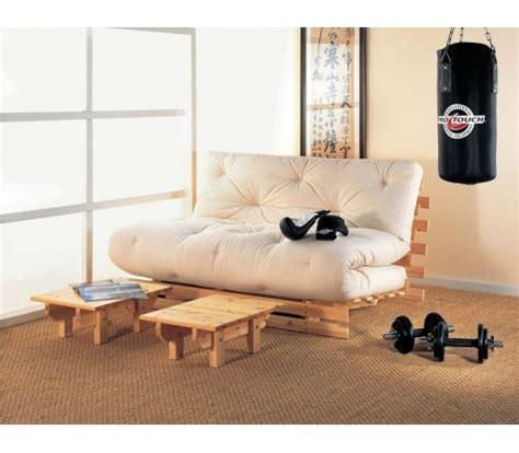 canapé futon canape lit futon convertible 1 ou 2 places