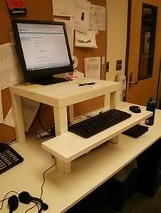 Beneficial Ikea Standing Desk Hack Best IKEA Standing Desk Hack