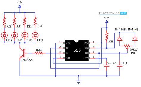 Pwm Based Led Dimmer Using Circuit Block Diagram
