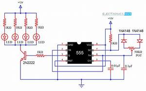 Pwm Based Led Dimmer Using 555