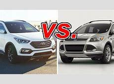Hyundai Santa Fe Sport vs Ford Escape CarsDirect