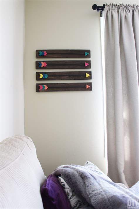 arrow wall decor diy wood arrows wall art