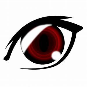 Vampire Anime Eye Clip Art at Clker.com - vector clip art ...