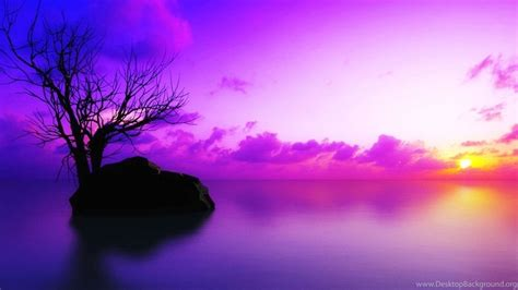 Purple Sunset Wallpapers Wallpapers Cave Desktop Background