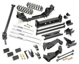 gm  wd   lift kit  es shocks