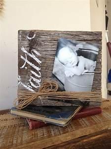 Créer Un Cadre Photo : cr er un cadre photo avec du bois recycl voici 18 id es ~ Melissatoandfro.com Idées de Décoration