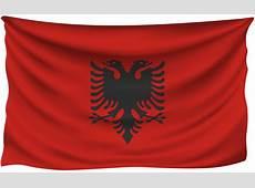 Albania Wrinkled Flag Gallery Yopriceville High
