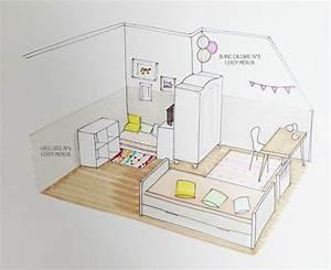 Chambre Fille Petit Espace : chambre ado petit espace maison design ~ Premium-room.com Idées de Décoration