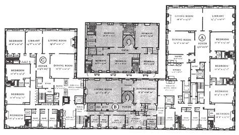 typical floor plan   sutton place south manhattan