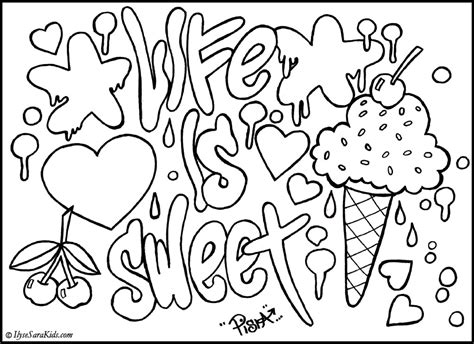 graffiti fonts sketches coloring pages design unique graffiti