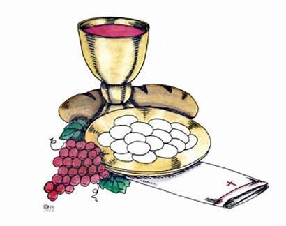 Communion Holy Eucharist Symbols Catholic Symbol Clip