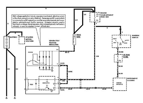 4 Wire Alternator Wiring Diagram by Wiring Diagram Regulator Alternator Alternator