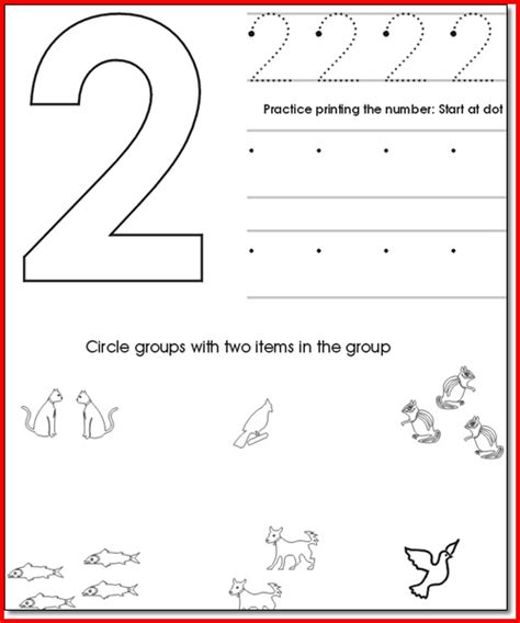 Preschool Worksheets Age 4 Worksheets For All  Download And Share Worksheets  Free On