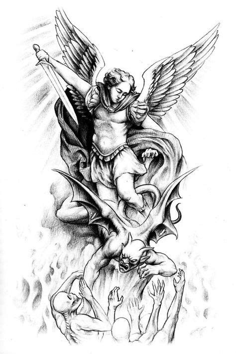 Jesse Santos - Book of angels | Angel tattoo designs, Tattoo designs, Archangel tattoo