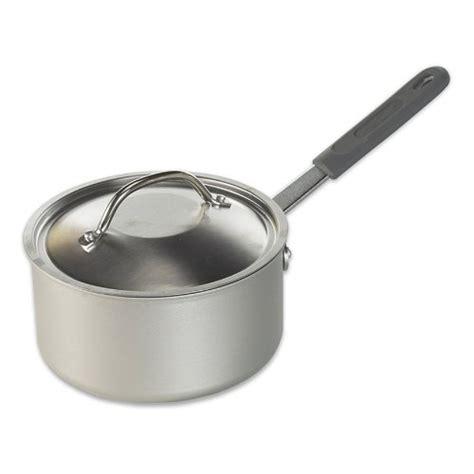 restaurant ware nordic lid cookware quart saucepan sauce pan silver qt amazon cast description kitchen saucepans
