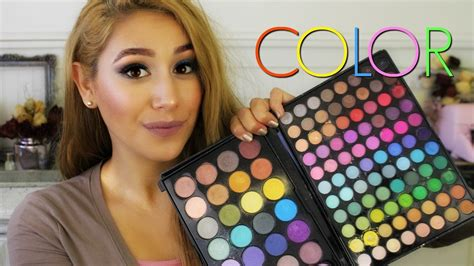 affordable colorful eyeshadow palettes youtube