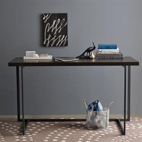 west elm flat bar storage desk west elm flat bar desk decoist